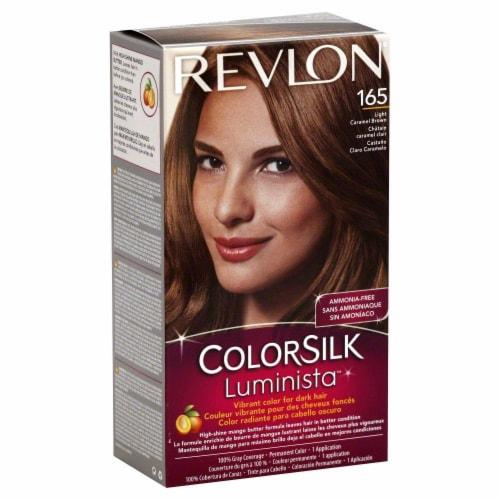 Revlon Color Silk Luminista Carmel Brown 165 Hair Color Perspective: front