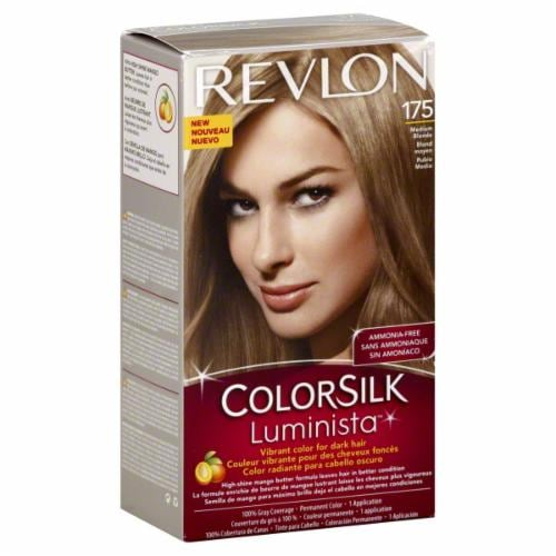 Revlon Color Silk Luminista Medium Blonde 175 Hair Color Perspective: front