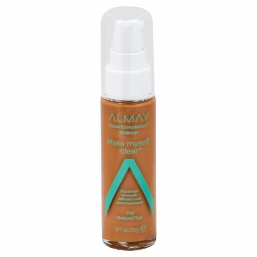 Almay Make Myself Clear 710 Natural Tan Clear Complexion Makeup Perspective: front