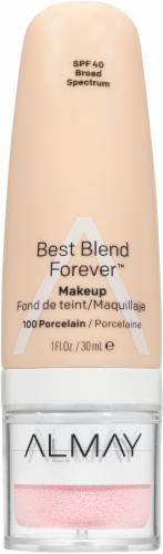 Almay Best Blend Forever 100 Porcelain Makeup SPF 40 Perspective: front