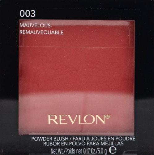 Revlon Mauvelous Powder Blush Perspective: front
