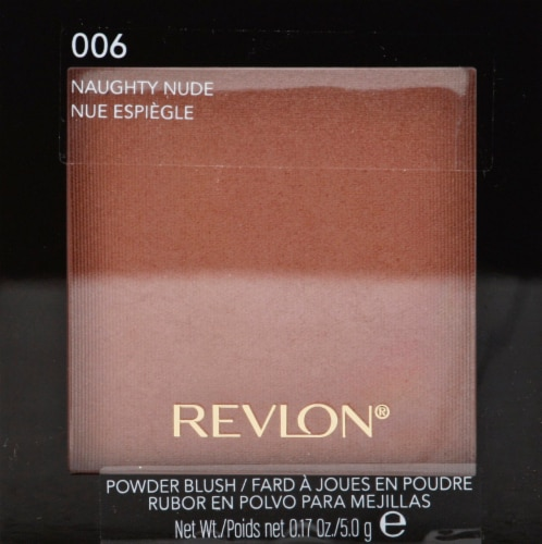 Revlon Naughty Nude 006 Powder Blush Perspective: front