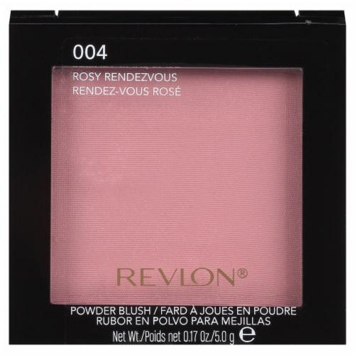 Revlon 004 Rosy Rendezvous Matte Powder Blush Perspective: front