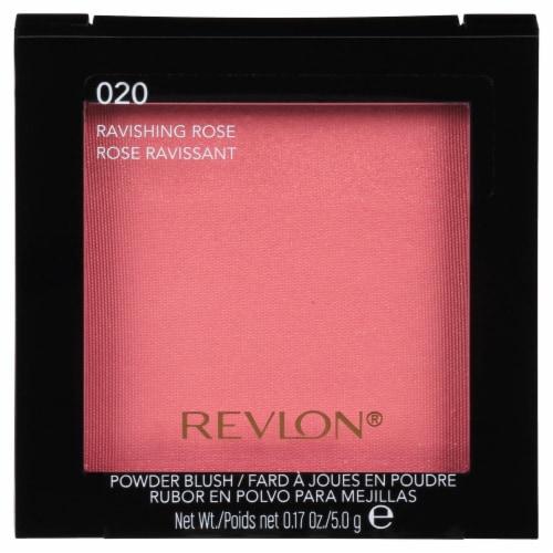 Revlon 020 Ravishing Rose Shimmer Powder Blush Perspective: front