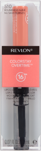 Revlon Colorstay Overtime 510 Boundless Nude Lipcolor Perspective: front