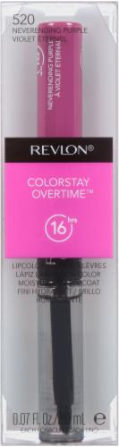 Revlon Colorstay Overtime 520 Neverending Purple Lipcolor Perspective: front