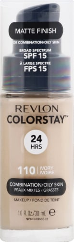 Revlon Colorstay Combo/Oily Skin Ivory Makeup Perspective: front