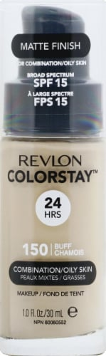 Revlon Colorstay Makeup Foundation Matte Finish for Combination/Oily Skin Makeup Perspective: front