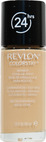Revlon Colorstay Combination/Oily Golden Beige Liquid Foundation Perspective: front