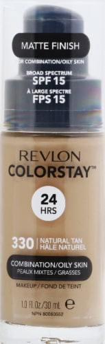 Revlon Colorstay Combo/Oily Skin Natural Beige Makeup Perspective: front