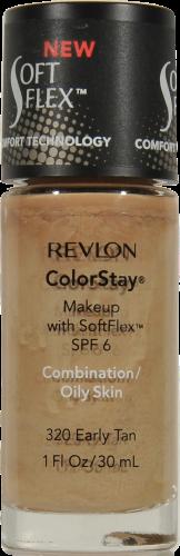 Revlon Colorstay Early Tan 320 Soft Flex Liquid Foundation Perspective: front
