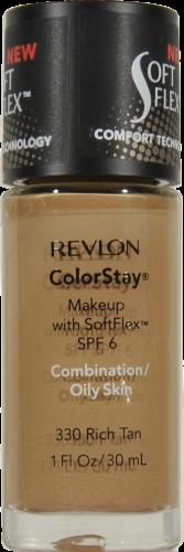 Revlon Colorstay Rich Tan Liquid Foundation Perspective: front