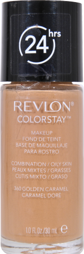 Revlon ColorStay Golden Caramel Combination Oily Skin Makeup Perspective: front