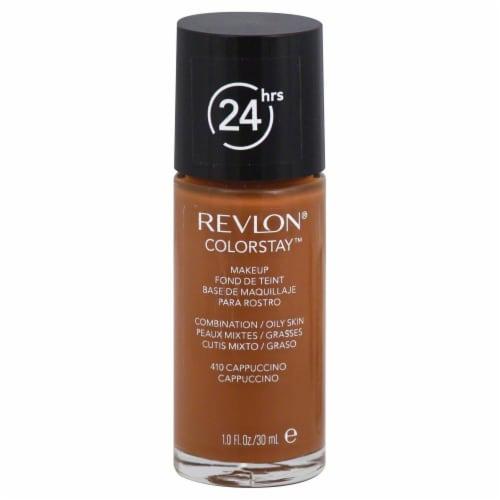 Revlon ColorStay 410 Cappuccino Liquid Makeup Perspective: front