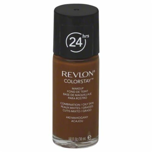 Revlon Colorstay Makeup Combination/Oily Skin Mahogany Perspective: front