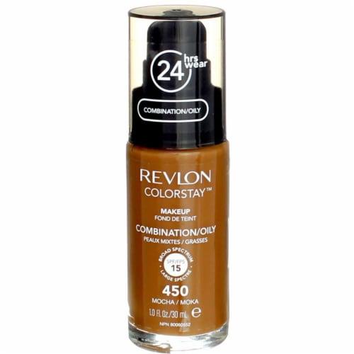 Revlon Colorstay Makeup Foundation Combination/Oily Skin Mocha Perspective: front
