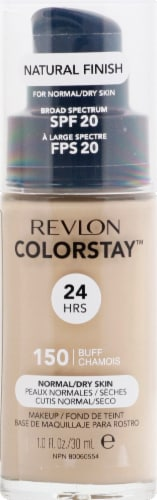 Revlon Colorstay Normal/Dry Skin Buff Makeup Perspective: front