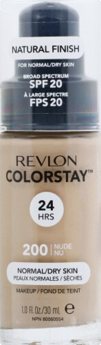 Revlon ColorStay Normal Dry Skin Nude Makeup Perspective: front