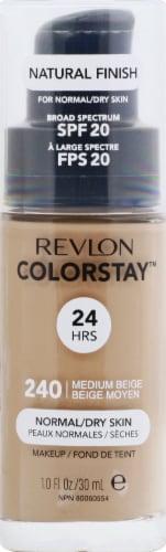 Revlon Colorstay Normal/Dry Skin Medium Beige Makeup Perspective: front