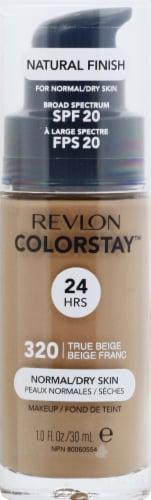 Revlon Colorstay 320 True Beige Liquid Foundation Perspective: front