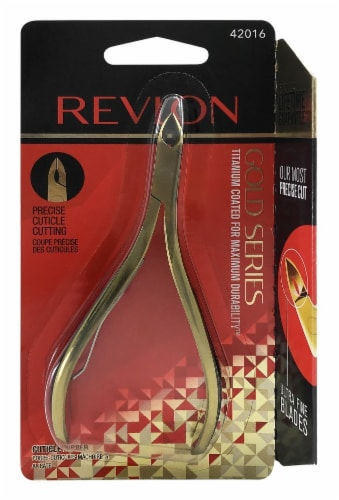 Revlon Gold Series Cuticle Nipper Perspective: front