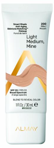 Almay Smart Shade 200 Light Medium Skintone Matching Makeup Perspective: front