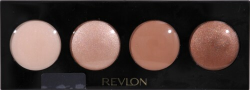 Revlon Illuminance Not Just Nudes Creme Eye Shadow Palette Perspective: front