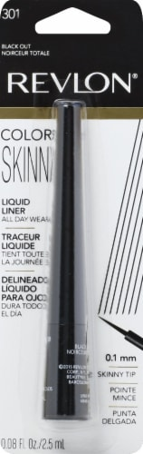 Revlon ColorStay 301 Black Out Skinny Liquid Liner Perspective: front