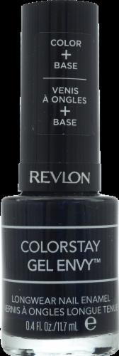 Revlon ColorStay Gel Envy Blackjack Nail Enamel Perspective: front