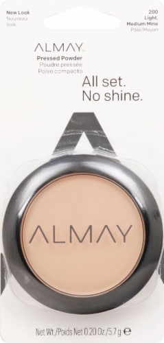 Almay All Set No Shine Light Medium Pressed Powder Perspective: front