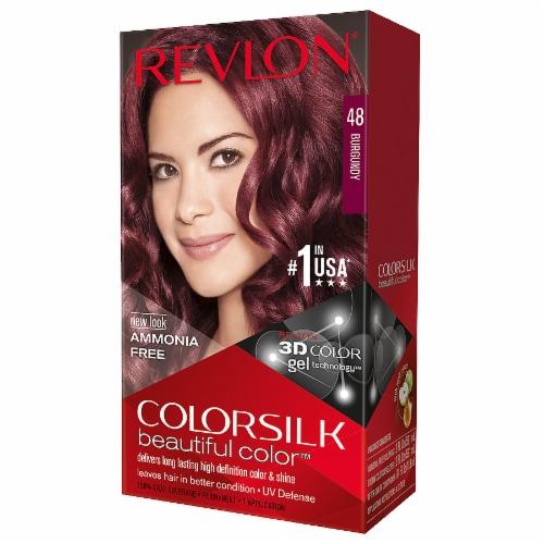 Revlon Colorsilk Beautiful Color 48 Burgundy Hair Color Kit Perspective: front