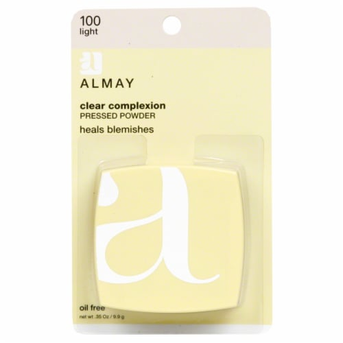 Almay Clear Complexion Light 100 Pressed Powder Perspective: front