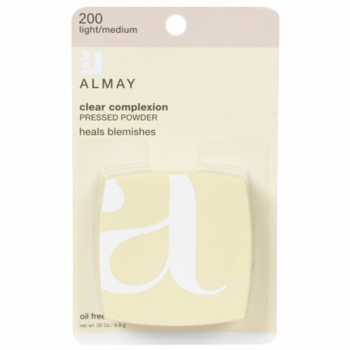 Almay Clear Complexion Light / Medium 200 Pressed Powder Perspective: front