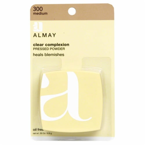 Almay Clear Complexion 300 Medium Pressed Powder Perspective: front