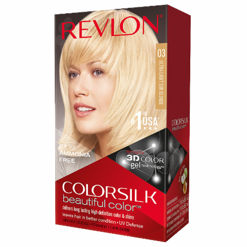 Revlon Colorsilk Ultra Light Sun Blonde 03 Hair Color Perspective: front