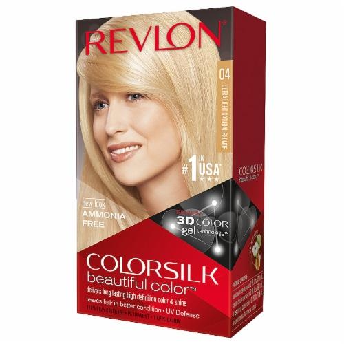 Revlon Colorsilk Ultra Light Natural Blonde 04 Hair Color Perspective: front