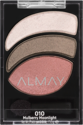 Almay Smoky Eye Trios 010 Mulberry Moonlight Eyeshadow Perspective: front