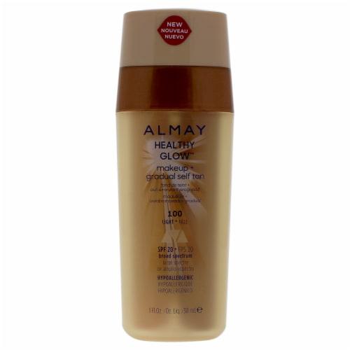 Almay Healthy 100 Light Glow Makeup + Gradual Self Tan Perspective: front