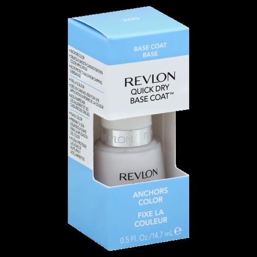 Revlon Quick Dry Base Coat Nail Polish Perspective: front