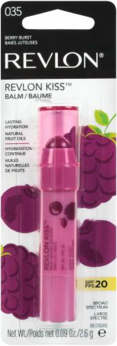 Revlon Kiss 035 Berry Burst Lip Balm Perspective: front
