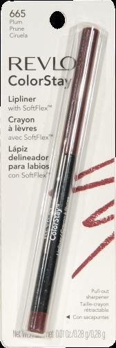 Revlon ColorStay 665 Plum Lip Liner Perspective: front