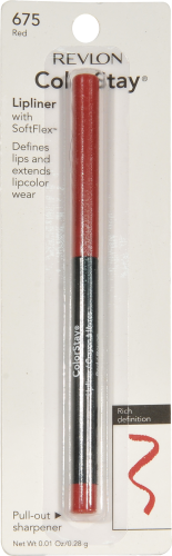 Revlon ColorStay 675 Red Lip Liner Perspective: front