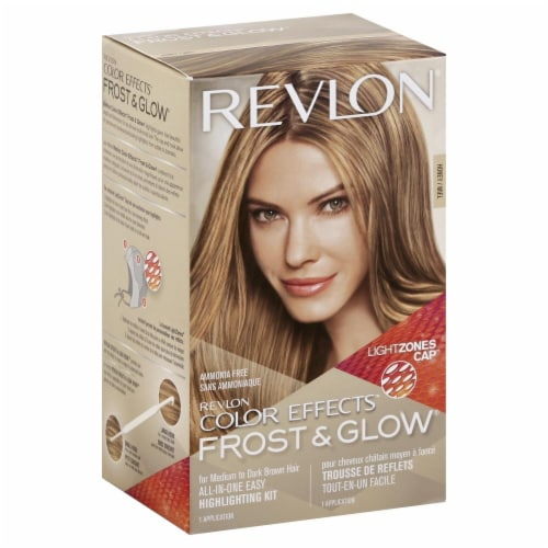 Revlon Honey Color Effects Frost & Glow Hair Highlighting Kit Perspective: front