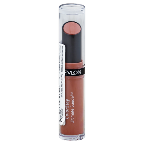 Revlon Colorstay Ultimate Suede 09 Influencer Lipstick Perspective: front