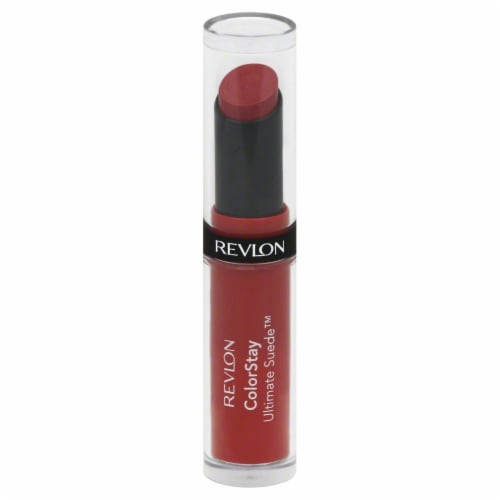 Revlon Colorstay Ultimate Suede Couture Lipstick Perspective: front