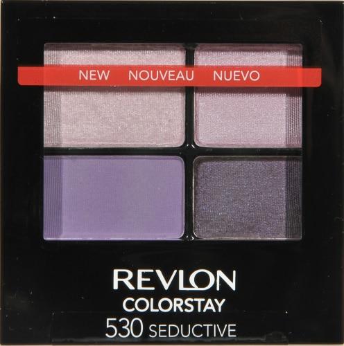 Revlon ColorStay 530 Seductive Eye Shadow Quad Perspective: front