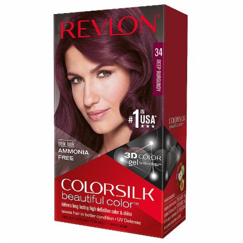 Revlon Colorsilk Dark Burgundy Perspective: front