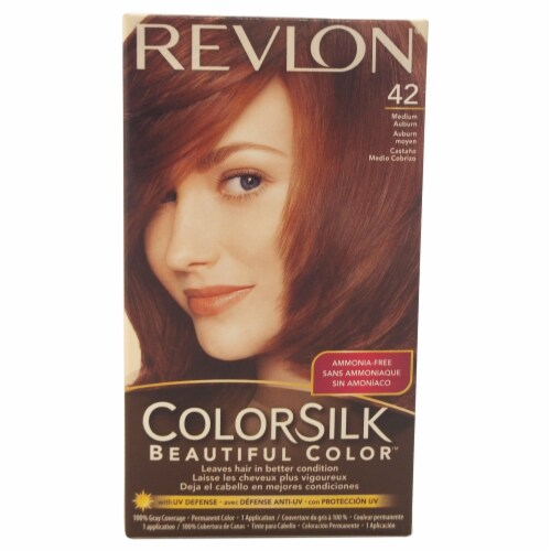 Revlon Colorsilk Medium Auburn 42 Hair Color Perspective: front