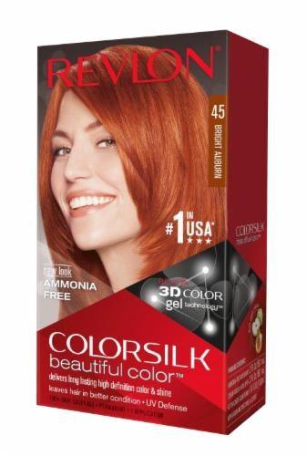 Revlon ColorSilk 45 Bright Auburn Hair Color Perspective: front