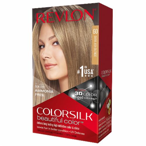 Revlon Colorsilk 60 Dark Ash Blonde Hair Color Perspective: front